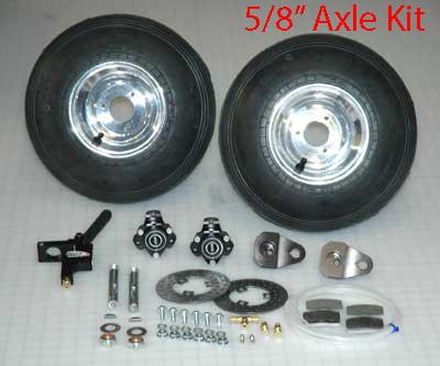 """5/8"""" Black Max Brake Kit"""